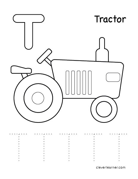 letter t tracing sheets for children lower case letter t tracing ...