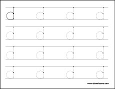 letter d tracing sheets for children lower case letter d tracing ...