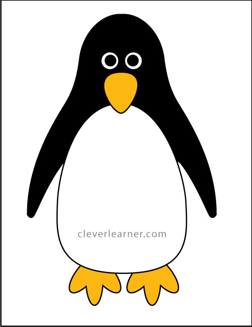 Materials Needed To Make A Penguin Craft