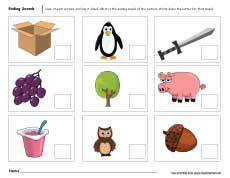 Printables Preschool Homeschool Worksheets worksheet preschool homeschool worksheets kerriwaller printables ending sounds for and kindergarten kids free homeschool