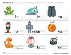 math worksheet : ending sounds worksheets for preschool and kindergarten kids : Ending Sound Worksheets For Kindergarten
