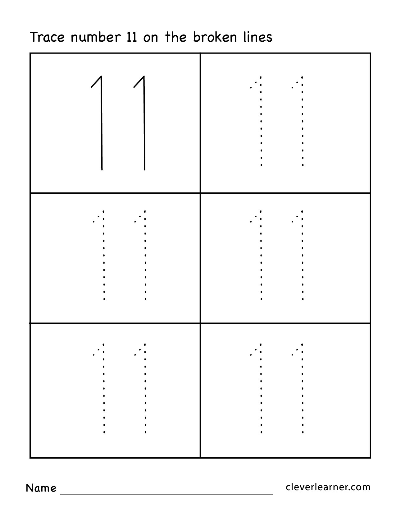 free worksheets on tracing