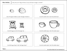 Big And Small Concept Worksheets | www.pixshark.com ...