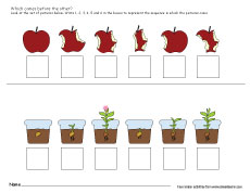 4faf2c09e30a Picture sequence worksheets for kindergartens ...