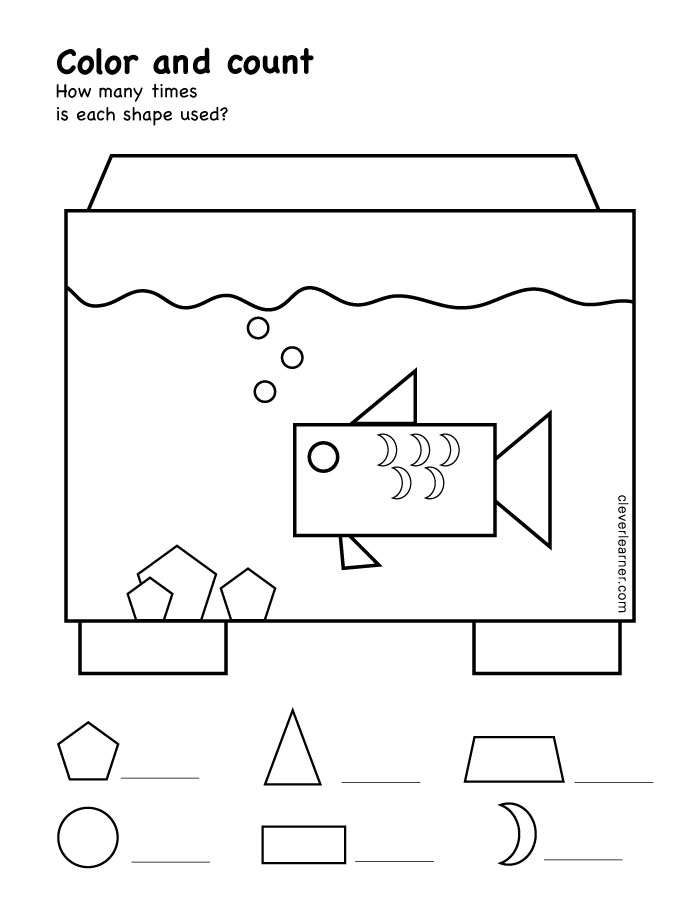 rectangle shape activity sheets for school children. Black Bedroom Furniture Sets. Home Design Ideas