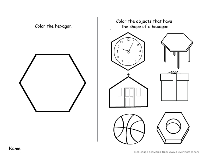 how to draw a hexagon in a circle