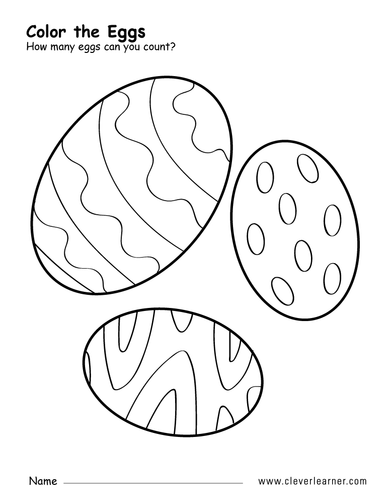 Free oval shape activity worksheets for preschool children