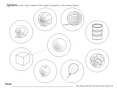 math worksheet : what is a sphere free sphere worksheets for kindergarten : 2d And 3d Shapes Worksheets For Kindergarten