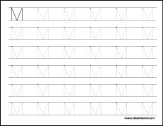 Letter m writing and coloring sheet big m tracing worksheets for kids upper case m practice worksheets for children spiritdancerdesigns Image collections