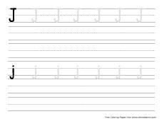 big j practice writing sheet small j practice writing sheet