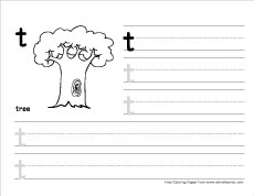 How To Write Small T Prctice Sheet