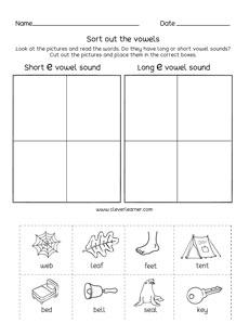 Short A Worksheets For Kindergarten